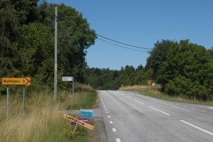 Skylt Nothamn
